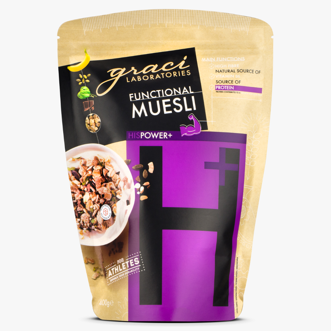 Graci Laboratories - HIS POWER Muesli