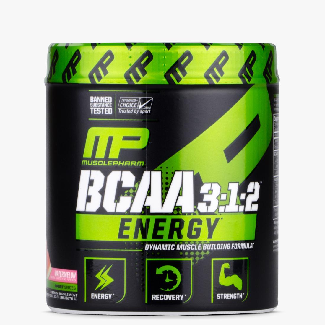 MusclePharm - BCAA 3:1:2 Energy Sport