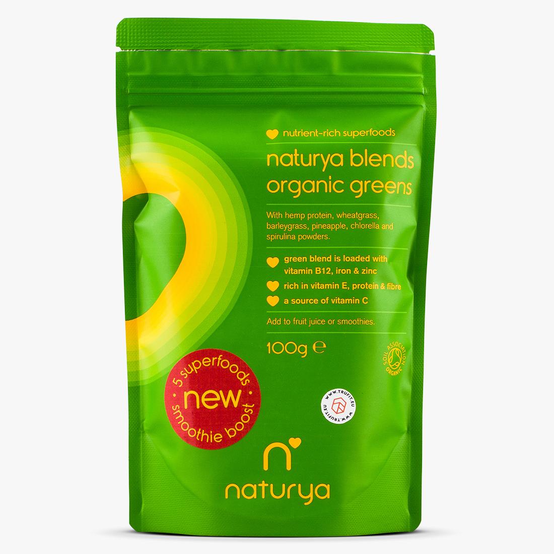 Naturya Superfoods - Organic Greens Blend