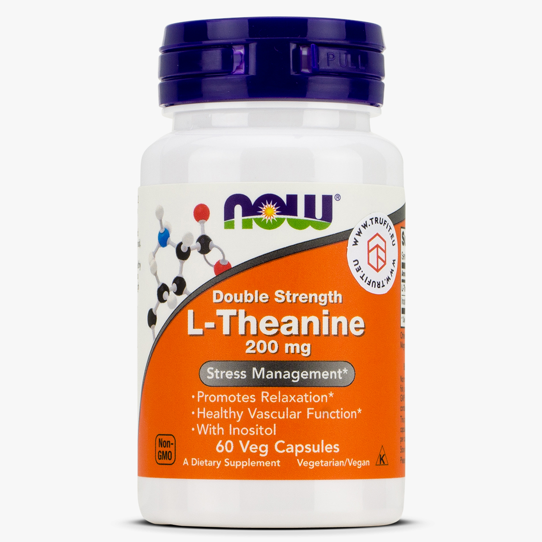 Now Foods - L-Theanine 200mg