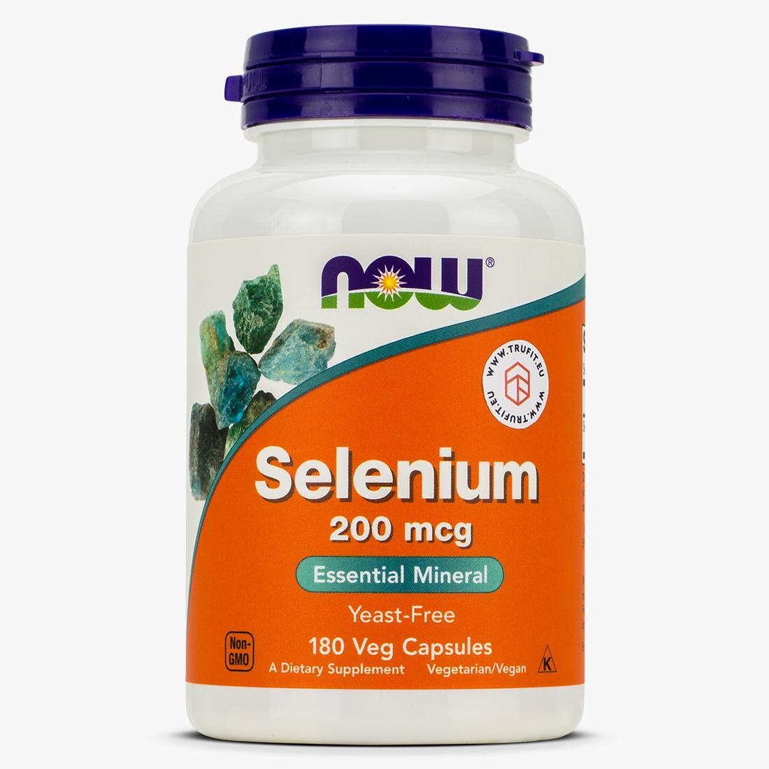Now Foods - Selenium 200mcg