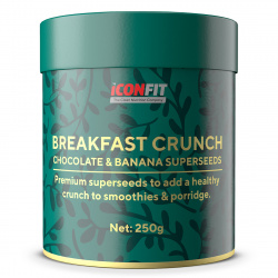 iConfit - Breakfast Crunch Chocolate Banana Superseeds
