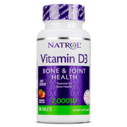 NATROL - Vitamin D3 F/D 2000
