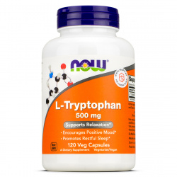 Now Foods - L-Tryptophan 500mg
