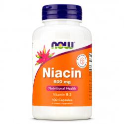 Now Foods - Niacin 500mg