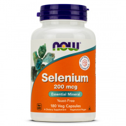 Now Foods - Selenium 200mcg
