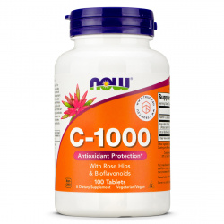 Now Foods - Vitamin C-1000 Tablets