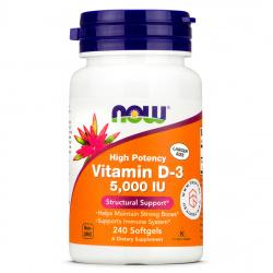 Now Foods - Vitamin D3 5000 IU