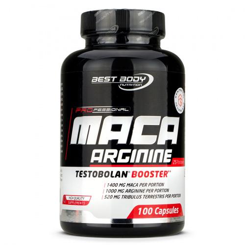 Best Body Nutrition - Professional Maca Arginine Testoblan Booster
