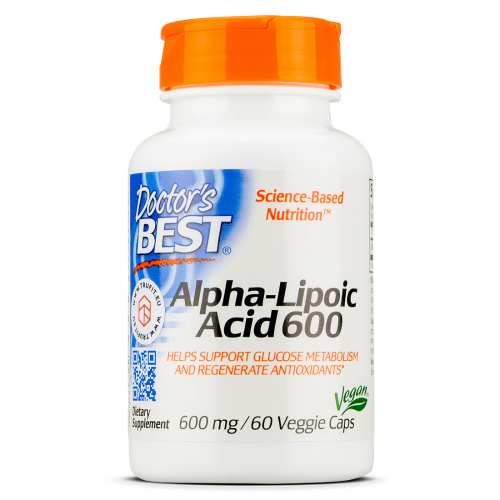 Doctor's Best - Alpha Lipoic Acid 600mg