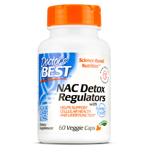 Doctor's Best - NAC Detox Regulators