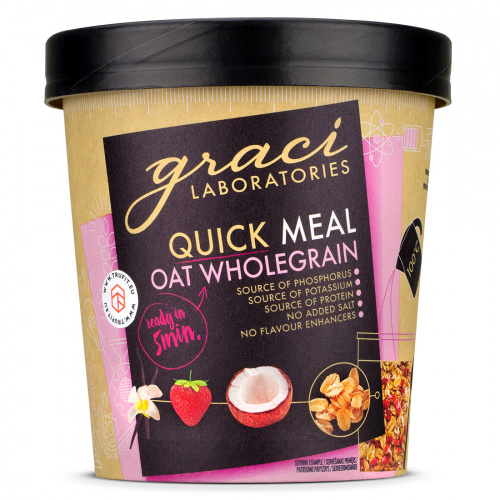 Graci Laboratories - Oat Wholegrain Quick Meal