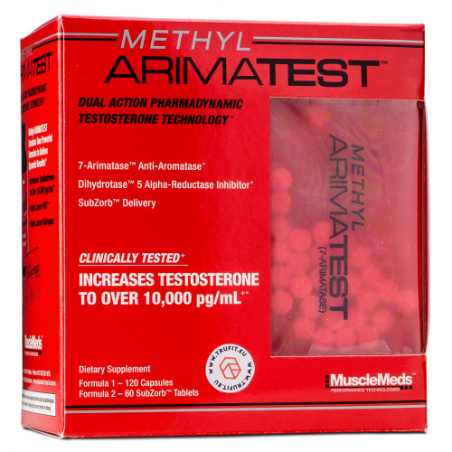 Musclemeds - Methyl Arimatest