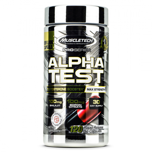 Muscletech - Alpha Test