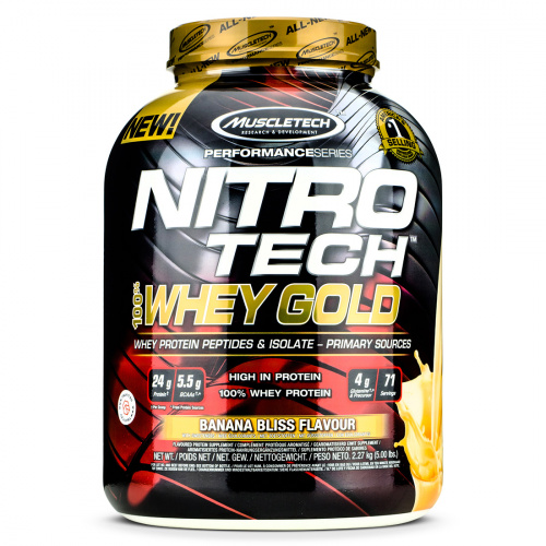 Muscletech - Nitro Tech 100% Whey Gold