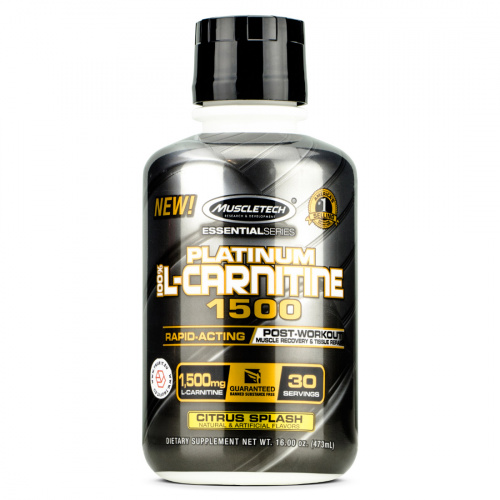 Muscletech - 100% L-Carnitine 1500