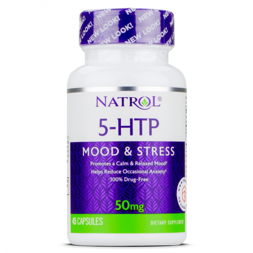 NATROL - 5-HTP 50mg