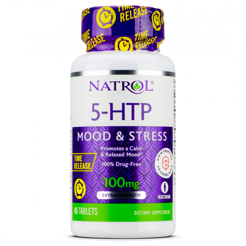 NATROL - 5-HTP 100mg Time Release