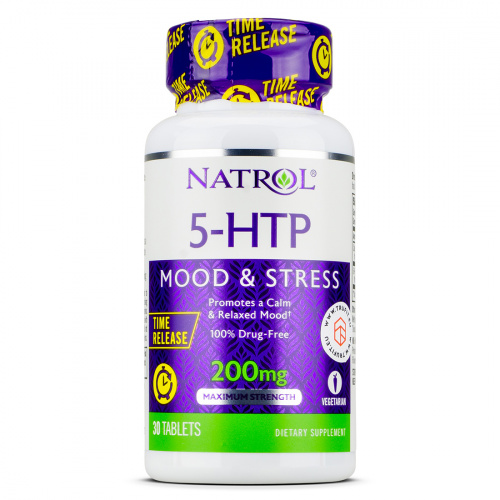 NATROL - 5-HTP 200mg Time Release