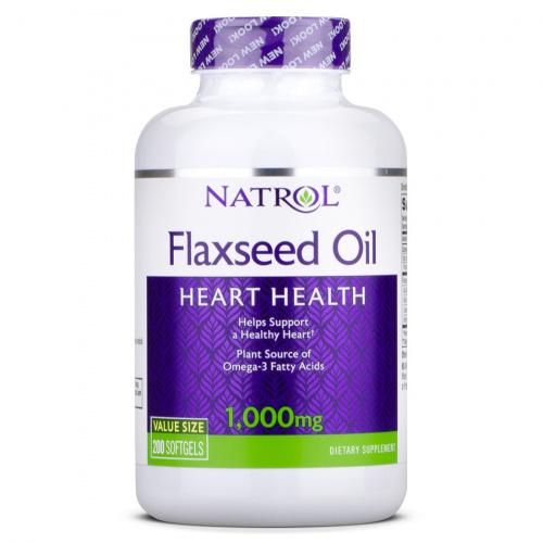 NATROL - Flaxseed Oil 1000mg