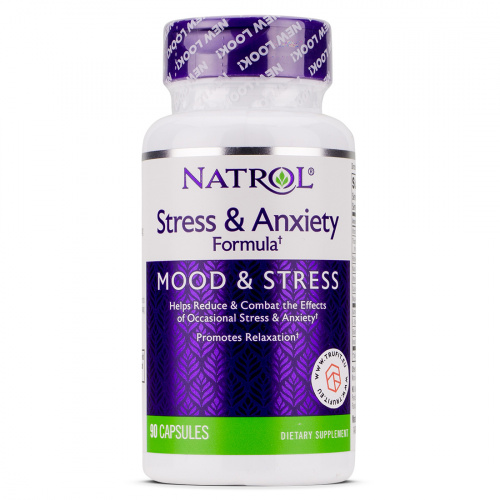 NATROL - Stress & Anxiety Formula