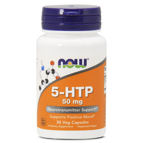 Now Foods - 5-HTP 50mg