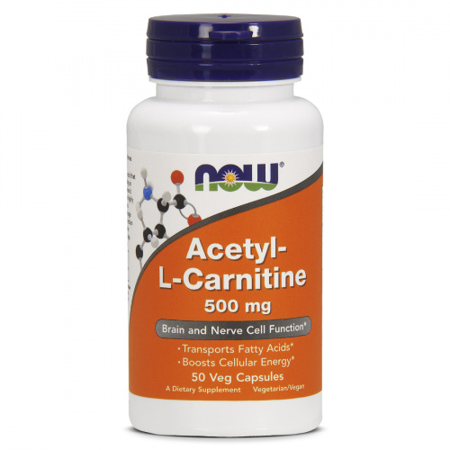 Now Foods - Acetyl L-Carnitine 500mg