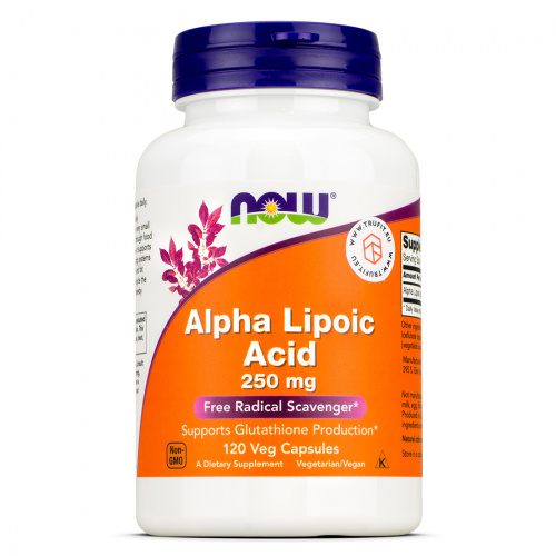 Now Foods - Alpha Lipoic Acid 250mg