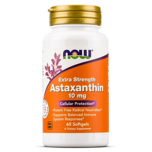 Now Foods - Astaxanthin 10 mg