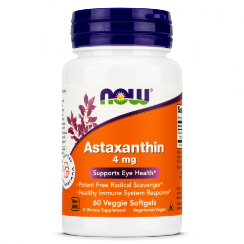 Now Foods - Astaxanthin 4mg