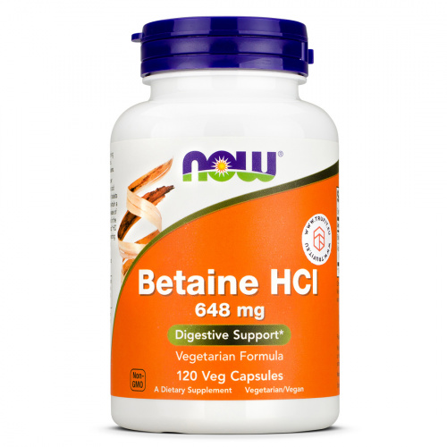 Now Foods - Betaine HCl