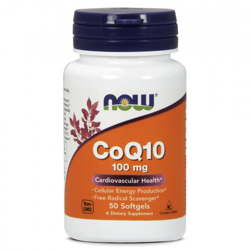Now Foods - CoQ10 100mg