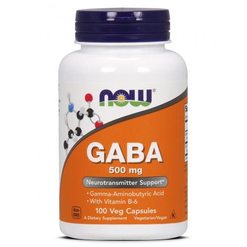 Now Foods - Gaba 500 mg