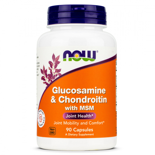 Now Foods - Glucosamine & Chondroitin with MSM
