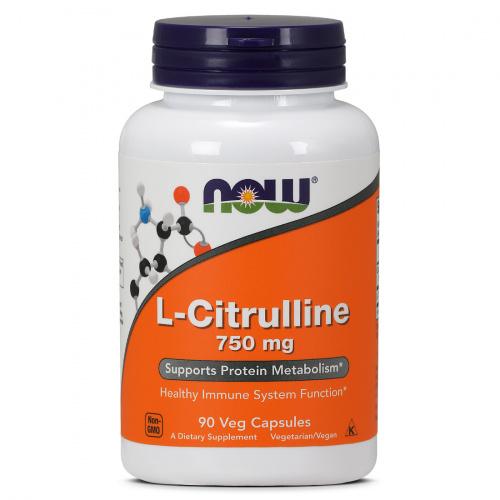 Now Foods - L-Citrulline 750mg