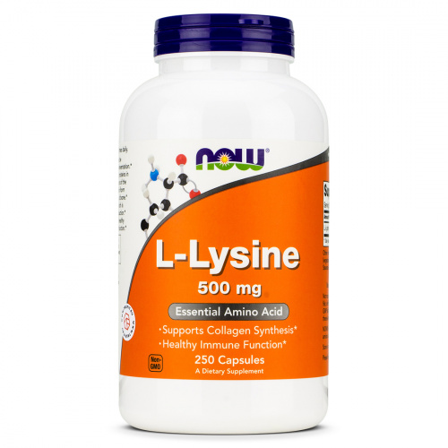 Now Foods - L-Lysine 500 mg