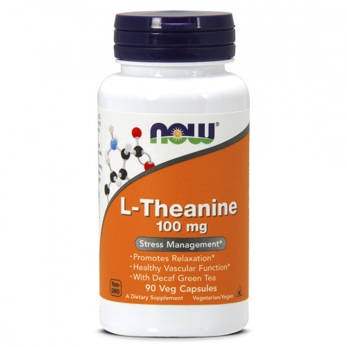 Now Foods - L-Theanine 100mg