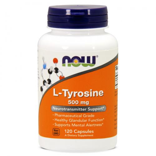 Now Foods - L-Tyrosine 500mg