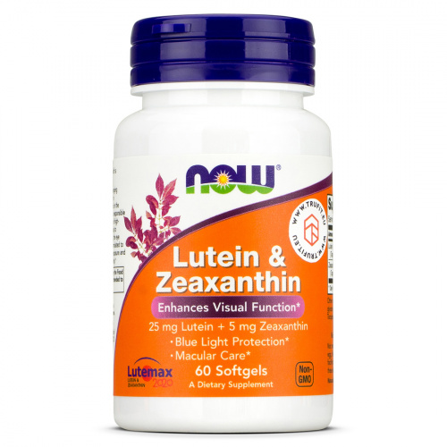 Now Foods - Lutein & Zeaxanthin