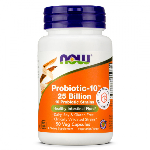 Now Foods - Probiotic-10 25 Billion
