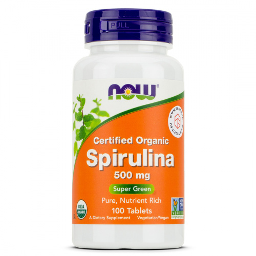 Now Foods - Spirulina Tablets 500mg