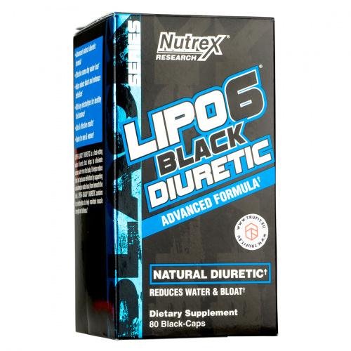 Nutrex Research - Lipo 6 Black Diuretic