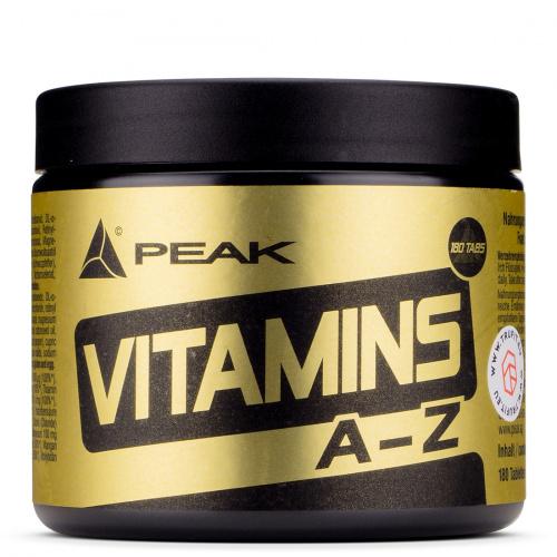 Peak - Vitamins A-Z