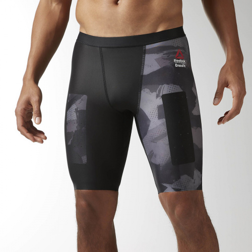 Reebok - Crossfit Printed Compression Short