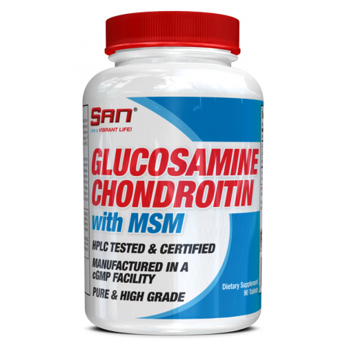 SAN - Glucosamine and Chondroitin with MSM