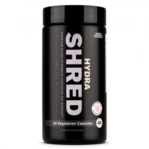 Sparta Nutrition - Sparta Hydrashred Black