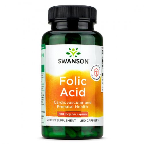 Swanson - Folic Acid 800mcg