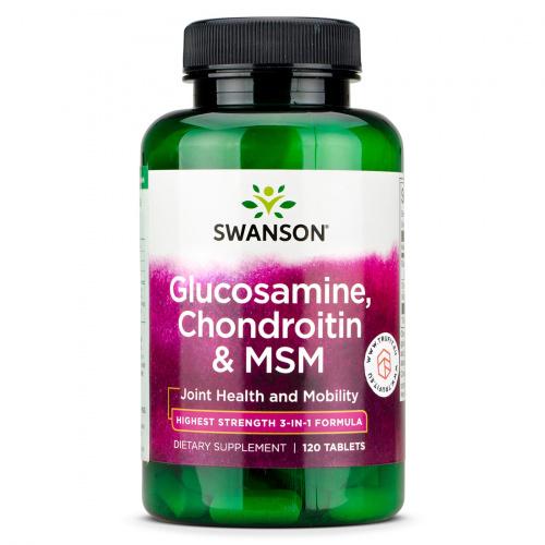 Swanson - Glucosamine, Chondroitin & MSM
