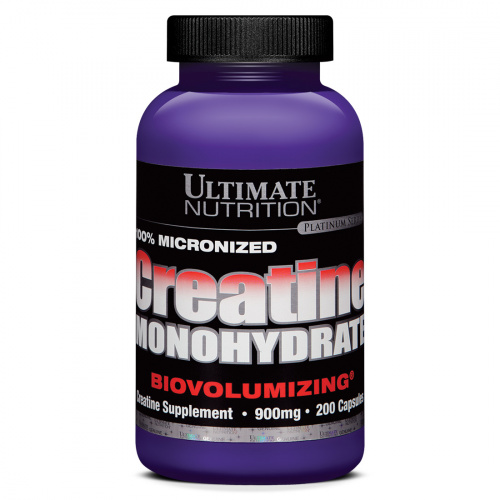 Ultimate Nutrition - 100% Creatine Monohydrate Caps