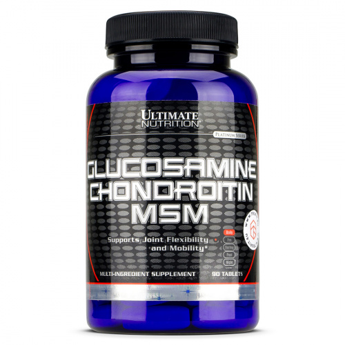 Ultimate Nutrition - Glucosamine & Chondroitin & MSM